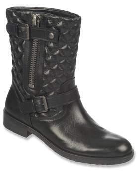 Franco Sarto Womens Padua Leather Almond Toe Ankle Fashion Boots.