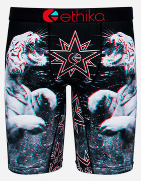 Ethika White Russian 3D Staple Mens Boxer Briefs
