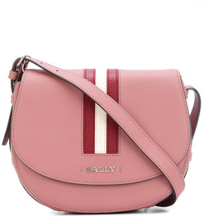 Bally striped trim cross body bag