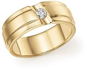 Bloomingdale's Diamond Men's Band in 14K Yellow Gold, .15 ct. t.w.