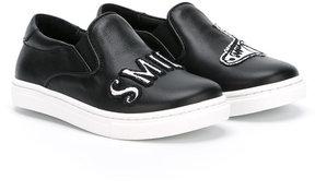 Dolce & Gabbana Kids Smile slip-on sneakers