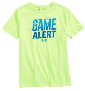 Under Armour Boy's Game Alert Graphic T-Shirt