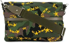 Valentino Spiked Stars Rockstud messenger bag