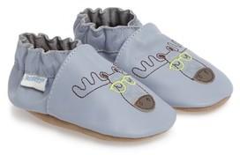 Robeez Toddler Boy's Moose Handsome Crib Shoe