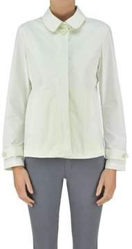ADD Women's White Polyester Jacket.