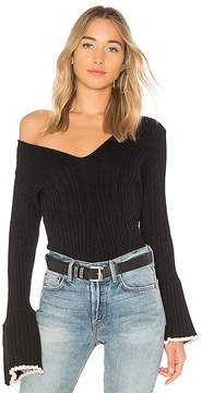 Central Park West Bourbon Street Bell Sleeve Sweater