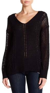 Band of Gypsies Mixstitch Pullover Sweater