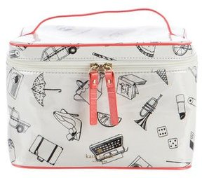 Kate Spade New York Printed Cosmetic Bag