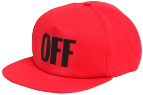Off-White Off Cotton Baseball Hat