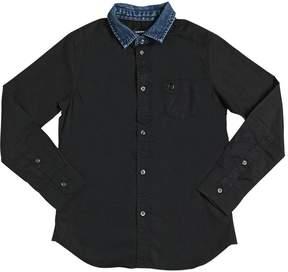 Diesel Cotton Poplin Shirt