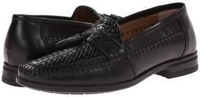 Nunn Bush Strafford Woven Moc Toe Loafer Men's Slip on Shoes