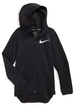 Nike Boy's Showtime Therma Flex Dry Stretch Basketball Hoodie