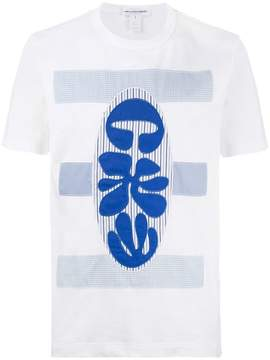 Comme des Garcons embroidered fitted T shirt