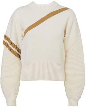 3.1 Phillip Lim Camel Stripe Sweater