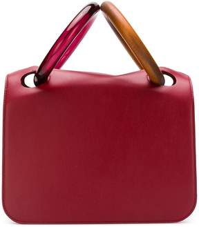 Roksanda wood handle bag