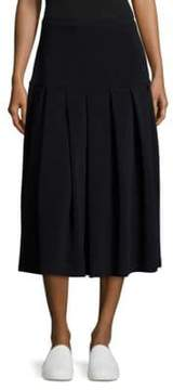 Sara Lanzi Stretch Wool Skirt