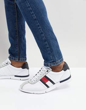 Tommy Hilfiger Retro Lightweight Sneakers Icon Flag in White