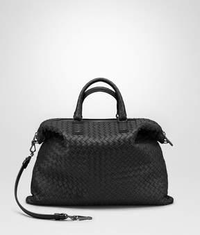 Bottega Veneta Nero Intrecciato Nappa Medium Convertible Bag