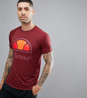 Ellesse Sport T-Shirt With Logo In Red