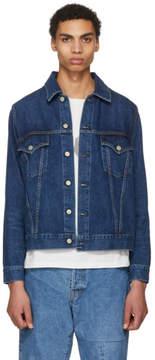 Remi Relief Blue Denim 3RD JK Natural Finish Jacket