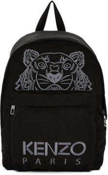 Kenzo Black Tiger Icon Backpack