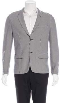 Marc Jacobs Striped Two-Button Jacket