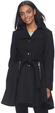 Apt. 9 Women's Wool Blend Peplum Jacket