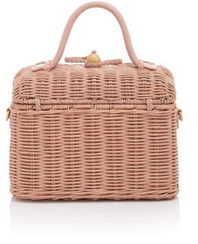 Ulla Johnson Perle Wicker Bag