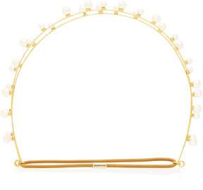Jennifer Behr Sybil Bandeaux Gold-Plated Headband