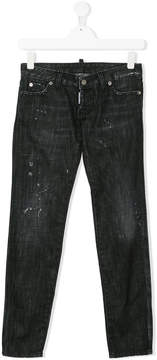DSQUARED2 washed out jeans