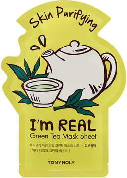 Tony Moly Tonymoly I'm Real Sheet Mask - Green Tea (Skin Purifying)