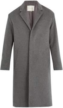 MACKINTOSH Single-breasted wool-blend coat