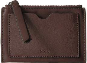Ecco Sculptured Card Case Credit card Wallet