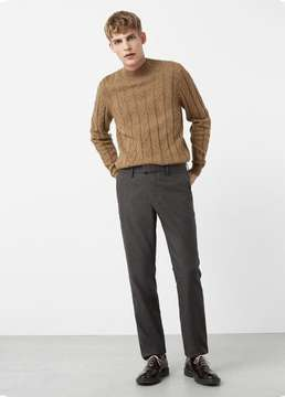 Mango Outlet Mini houndstooth trousers