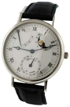 Breguet Classique 18K White Gold 37mm Mens Watch