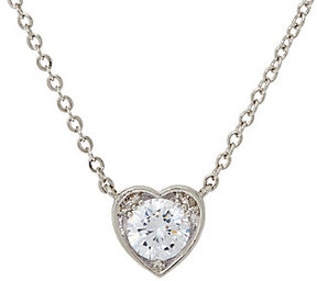 Elizabeth Taylor As Is The 1.35cttw Sim. Diamond Drop Necklace