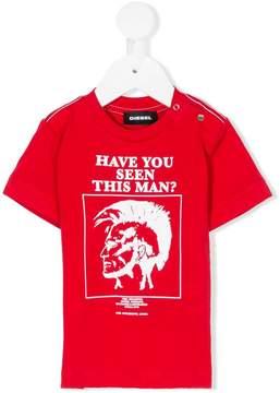 Diesel punk graphic print T-shirt