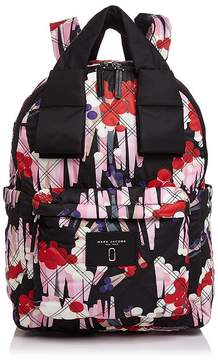Marc Jacobs Geo Spot Printed Knot Large Backpack - BLACK MULTI - STYLE
