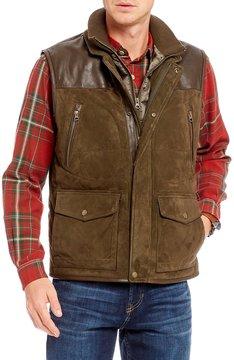 Daniel Cremieux Rugged Leather Vest