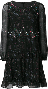 Frankie Morello space print dress