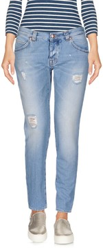 (+) People Denim capris