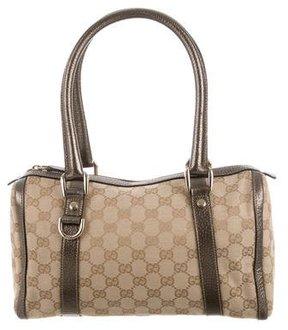 Gucci Small GG Abbey Boston Bag - BROWN - STYLE