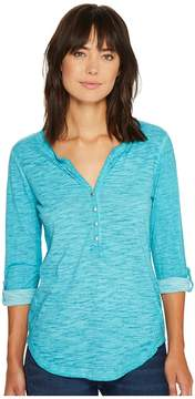Ariat Caitlin Henley Women's Long Sleeve Button Up