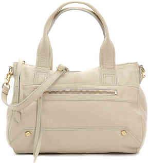 Women's Walker Leather Satchel -Ivory