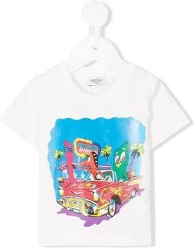 Moschino Kids Diner print T-shirt