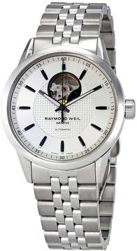 Raymond Weil Freelancer Silver Dial Automatic Men's Steel Watch