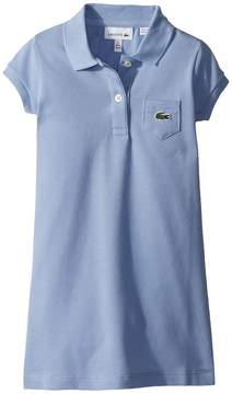 Lacoste Kids Classic Pique Dress with Pocket Girl's Dress