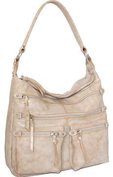 Nino Bossi Heather Leather Hobo Handbag (Women's)