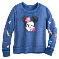 Disney Minnie Mouse Emoji Pullover Top - Aulani, A Resort & Spa - Women