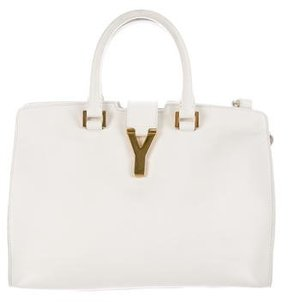 Saint Laurent Cabas Chyc Satchel - WHITE - STYLE